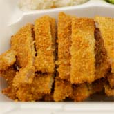 tonkatsu chicken and pork